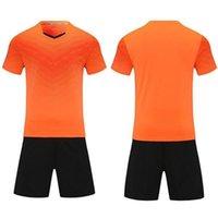 Leerer Fußball-Jersey-Uniform personalisierte Team-Shirts mit Shorts-gedruckten Designnamen und Nummer 04