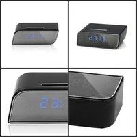 Réveils Mini caméra Réveil de la caméra Sécurité Détection de mouvement Nanny IR Table Clock US Plug US 1080P 678 K2