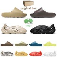 men women slipper desert sand slide core pure bone soot ararat foam runner white black slippers
