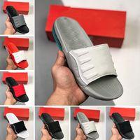 air max Summer 98 uomo donna pantofole moda diapositive 98s triple nero bianco grigio diapositiva da esterno mens flat infradito beach hotel slipper sandali con plateau 36-45
