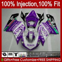 Bodywork Injection For DUCATI 848 1098 1198 S R 1198R 07 08 09 10 11 12 Body 18No.100 848S 848R 1098R 07-12 1098S 1198S New Purple 2007 2008 2009 2010 2011 2012 OEM Fairing