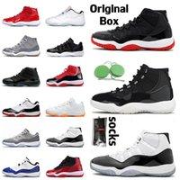 مع مربع stock x nike air jordan retro 11 jordans 11s المخزون الأصلي رجل المرأة أحذية كرة السلة 11 كونكورد عالية 11 ثانية jumpman أحذية رياضية منخالأردنالرجعية الهواء المدرب