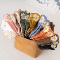 Korean socks summer women's socks cute flower socks casual women's