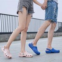 أحذية حفرة الذكور النساء رجل عشاق الصنادل الرجال الصندل المرأة شاطئ الصيف sandalen النعال sandalet hombre sandali