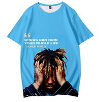2021 New 3D Print T Shirt Tops Summer Short Sleeve Hot Autumn Star Juice Wrld Men Women Popular Boys and Girls