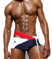 Swimwear Men's Swimming Trunks Low Waist Sexy Gay Beach Bathing Swim Surf Wear Shorts for AQUX Men Swimsuit Man Sunga M-XXL hxl