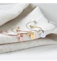 10pcs lot Fashion Bracelets 18K rose gold plate cuff open bangle stylish suitable for women jewelry girt gift