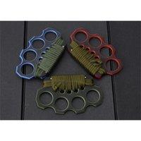 G10 de alta calidad G10 Knuckles Knuckle Dusters, cuatro dedos de hierro, acero integrado formando herramientas EDC 3300 3350