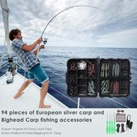 Fishing Hooks Lead Clips Beads Bait Tools Anti Knot Sleeves Swivels Carp For Outdoor Portable Accessories