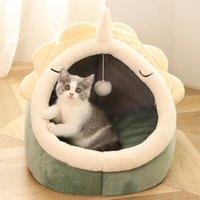 سرير الأسرة الأثاث yopeto السرير الدافئ الحيوانات الأليفة سلة دافئ هريرة المتسكع سادة البيت خيمة لينة جدا كلب حصيرة حقيبة صغيرة للغسل الكهف