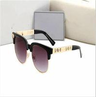 2021 جودة جودة شقة أعلى مصمم الرياضة رجل الإطار النظارات الشمسية الفاخرة القديمة الأزياء القيادة النظارات elip400 مع