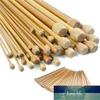 36 PCS Bamboo ganchillo conjunto de ganchillo DIY tejido agujas manija tejido tejido de tejido Hilo Herramientas de tejer 18 tamaños 2mm-10mm