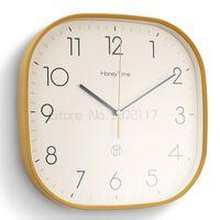 Wall Clocks Creative Simple Clock Quartz Living Room Household Silent Bedroom