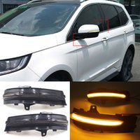 LED Dynamic Turn Signal Light Side Mirror Sequential Indicator Blinker Lamp For Ford Edge 2015 2016 2017 2018 2019