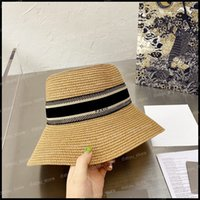 Luxurys Designers Chapéus Chapéus Homens Sun Bucket Chapéu Beanie Mulheres Verão Férias Strawhat Casquette Snapbacks Beanies Fedora Caps Fedora