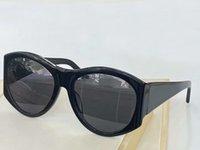 Schwarze graue ovale übergroße Sonnenbrille 4856 Töne Sonnenbrille Occhiali da Sohle Frauen Sonnenbrille Wth Box