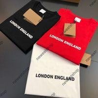 2021 여름 파리 디자이너 Tshirts Mens 클래식 편지 인쇄 T 셔츠 패션 티셔츠 캐주얼 Unsex 코튼 탑스 티
