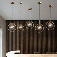 الأوروبي الحديثة البسيطة الحديد الزجاج أنبوب الصمام الثريا هو مناسبة لغرفة المعيشة، دراسة وشرفية أضواء الإضاءة التجارية قلادة مصباح