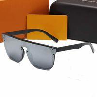 Lunettes de soleil de style pilote sans chasse pour hommes Femmes Choix coloré pour Summer Luxe Carter lunettes Super qualité Cadres de gros de qualité