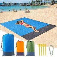 Pool-Accessoires Strandtücher Schwimmmatte Anti-Sand-freie Sanddecke Wind verhindern Beweise übergroße Tasche