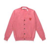 BESTQUENTY COM DES Garcons C218-1 Siyah Kazak Pamuk Hırka Unisex Rahat Ince V Yaka Sweatershirts CDG Erkekler Kadınlar Hoodie Coat Oyna