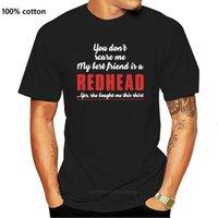 Рыжий досуг хип-хоп одежда весенняя футболка для мужчин веселые стильные шеи экипажа Anlarach создают