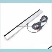 W-i-i Kablolu Kızılötesi IR Sinyal Ray Sensörü Bar Alıcısı Nintendo Wii U Wiiu Vldup HKBG7 için