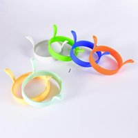 Egg Tools Kitchen Silicone Fried Fry Frier Oven Poacher Eggs Poach Pancake Ring Mould Tool NHA5583