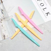 Couteaux de rasoir à sourcils Femme Epilateur Source Source Source Tondeuse Rasage Rasage de cheveux 3 couleurs FWB5865
