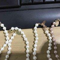 Collana corta perla catena orbitale collane clavicola catene perla gioielli da donna regalo