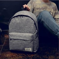 Backpack Women Bag Male Canvas Black College Student School Bags For Teenagers Casual Camping Travel