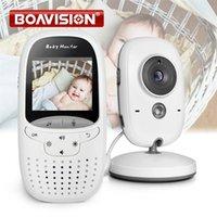 Baby Monitor VB602 IR Night Vision Temperature Lullabies Intercom VOX Mode Video Camera Walkie Talkie sitter 210618