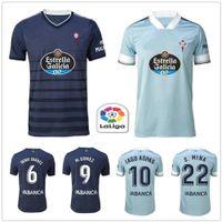 20 21 Celta Vigo Football Jersey M. Gomez Emre Iago Aspas Sisto Boufal Men's Football Jersey Set