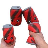 Jumbo Squishes Sevimli Kola Cons Bardaklar Süt Krem Kokulu Squishes Yavaş Yükselen Charm Oyuncak Yavaş Yükselen Sıkma Oyuncaklar Koleksiyonu