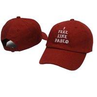 2021 Nuovo Kanye West Mi sento come Pablo Fashion Golf Swag Cap Pray Palace Dad Hat Hat Sun Cotton Women e Men Baseball Cap Snapback x0726
