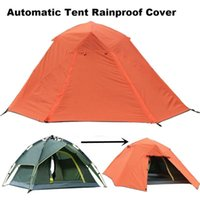 Tents And Shelters 3-4 Person Hydraulic Automatic Tent Rainproof Cover Outdooor Waterproof Windproof Sunscreen Warm Camping Rain