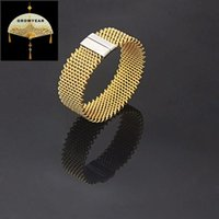 Stainless Steel Woman Bracelets And Bangles Gold Color Simple Plating Wire Shape Magnet Opening Switch 1PC Bangle