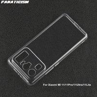 Slim 1mm Clear Soft TPU Cases For Xiaomi MI 11 Pro Ultra Lite Mi11 11Pro 11Ultra 11Lite Transparent Silicone Phone Cover