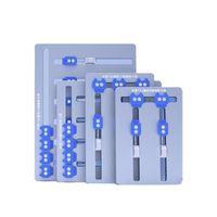 Téléphone portable Outils de réparation MIJING T22 T23 T24 T26 T26 Multi-fonction Multi-Fonctionnement de la carte mère Fixture Réparation Alliage Aluminium PCB Soudage