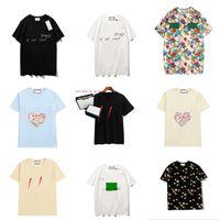 Frauen Männer Tops T-Shirt Mode Designer Brief Druck Multi Style Damen T-Shirts Hohe Qualität Trend Kurzarm Größe S-2XL WF2102061