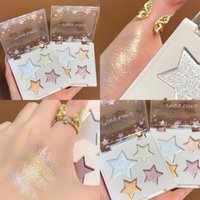 Eye Shadow 4 Colors Matte Glitter Makeup Highlight Trimming Pearl Powder Nude Shimmer Cosmetic Waterproof TSLM2