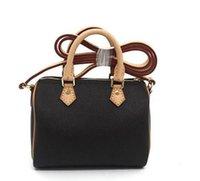 Designer di Lussurys M61252 Carina borsetta Vera Borse a tracolla in cuoio reali 16cm Femminile Nano Secchio Brown Flower Mini Speedy Pillow Cluch Bag