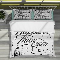 Popular singing stars in Europe and America Billie Eilish 3D Printing Colorful Bedding Sets Duvet Cover-32