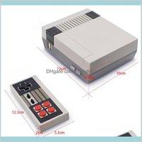 Mini Tv Handheld Family Recreation Video Game Console Av Port Retro 620 Classic Games Dual Gamepad Gaming Player Sblp8 Wnubj