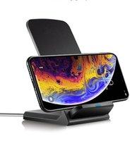 15 W 10 W Qi Standart Tutucu Kablosuz Şarj Hızlı Şarj Dock İstasyonu Telefon Şarj Iphone 11 12 Samsung Huawei
