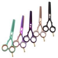 Forbici per parrucchieri professionali Snips Straight Slip Thinning capelli da 5,5 pollici Haircut