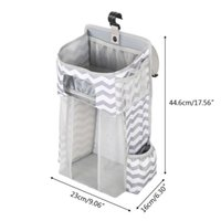Storage Boxes & Bins Diaper Stacker Hanging Bags Nursery Organizer For Changing Table Crib Or Wall Baby Shower Gifts