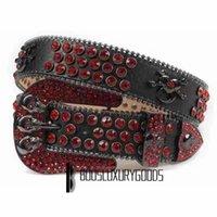2022 Designer Belt Bb Simon Belts for Men Women Shiny diamond belt Black skull bb belts