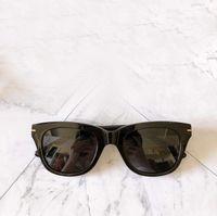 Sunglasses Snowdon Snowdon Shinny Noir 237 Hommes Fashion Sun Lunettes UV400 Protection Lunettes avec boîte