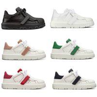Frauen Designer ID Sneaker White Calfskin Sneakers Platform Trainer Gummi Zehe Freizeitschuhe Top Qualität mit Box